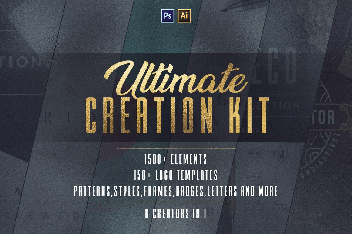 Download 6in1 Ultimate Creation Kit -  Only 100 Copies available